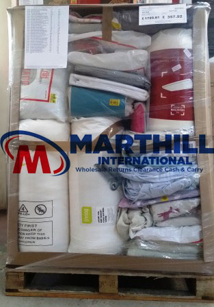 EX CAT BEDDING RETURNS PALLET 8277546