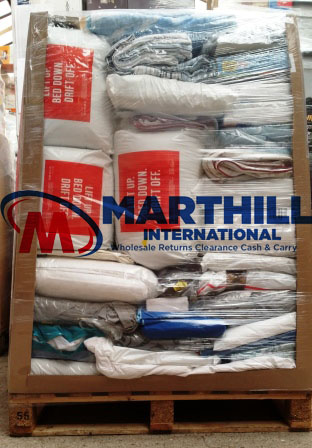 EX CAT BEDDING RETURNS PALLET 8281360